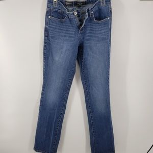 Nine West Date Night Fit Straight Jeans